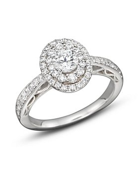 Bloomingdale's - Diamond Engagement Ring in 14K White Gold, 1.0 ct. t.w. - 100% Exclusive