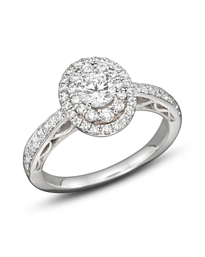 Click here for Diamond Engagement Ring in 14K White Gold  1.0 ct.... prices