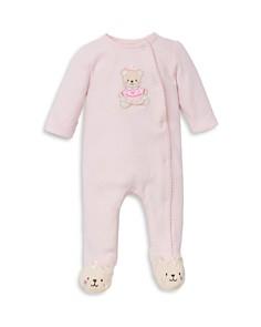 Little Me Girls' Sweet Bear Footie - Baby - Bloomingdale's_0