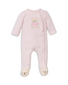 Little Me - Girls' Sweet Bear Footie - Baby