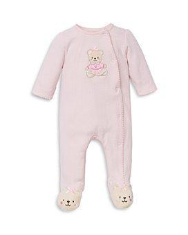 Little Me - Girls' Sweet Bear Footie - Baby