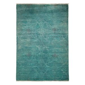 Vibrance Collection Oriental Rug, 4'3 x 6'1