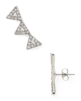 Rebecca Minkoff - Triangle Ear Climbers
