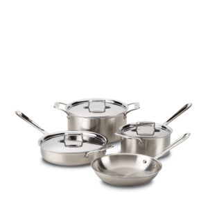All-Clad d5 Stainless Brushed 7-Piece Set