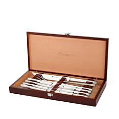 Wusthof Stainless 10-Piece Steak Knife & Carving Set - Bloomingdale's Registry_0