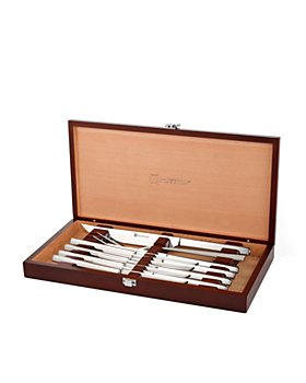 Wüsthof - Stainless 10-Piece Steak Knife & Carving Set