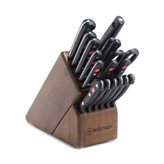 Wusthof Gourmet 18-Piece Knife Block Set, Walnut - Bloomingdale's Registry_0