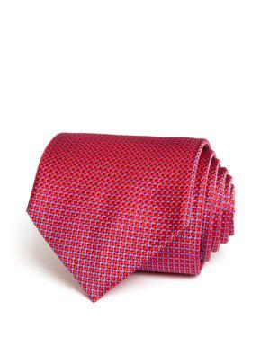 The Men's Store at Bloomingdale's Micro Harlequin Wide Tie - 100% Exclusive