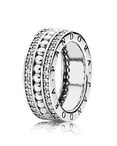 PANDORA - Sterling Silver & Cubic Zirconia Forever PANDORA Ring