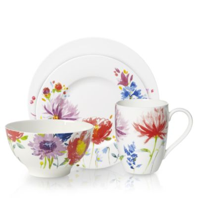 Anmut Flowers Bread & Butter Plate