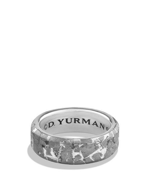 David Yurman - Fused Meteorite Ring