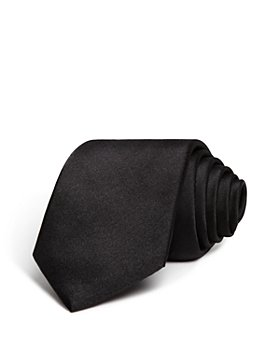 The Men's Store at Bloomingdale's - Solid Satin Skinny Tie - 100% Exclusive