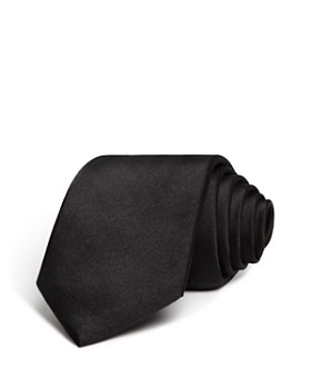 The Men's Store at Bloomingdale's - Solid Satin Skinny Tie - 100% Exclusive