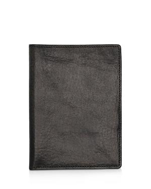 Shinola Leather Passport Wallet-Men