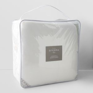Sferra Cornwall Medium Comforter, Queen