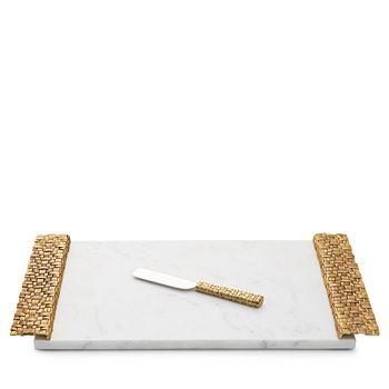 1e44ed7119f0d Michael Aram - Palm Cheeseboard with Knife