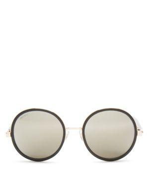Jimmy Choo Andie Round Sunglasses, 53mm
