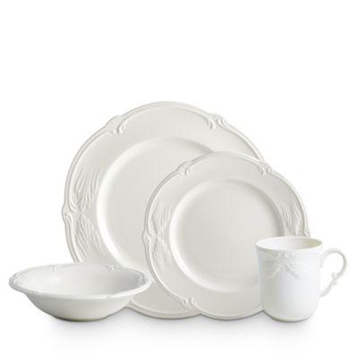 Rocaille White Round Platter