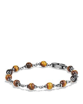 David Yurman - Spiritual Beads Rosary Bracelet in Tiger's Eye