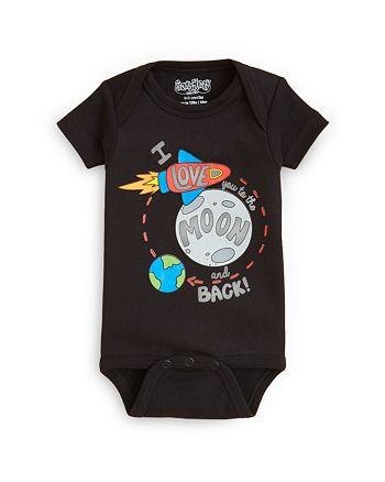 Sara Kety - Unisex Love You to the Moon Bodysuit - Baby