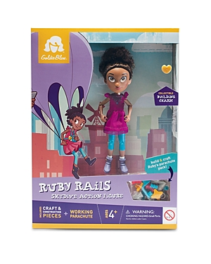 Click here for GoldieBlox Ruby Rails Skydive Action Figure - Ages... prices