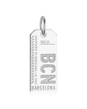 Jet Set Candy - Barcelona, Spain BCN Luggage Tag Charm