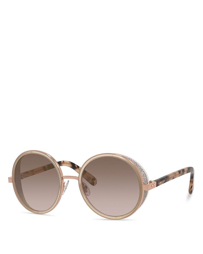Jimmy Choo WOMEN'S ANDIE ROUND SUNGLASSES, 53MM