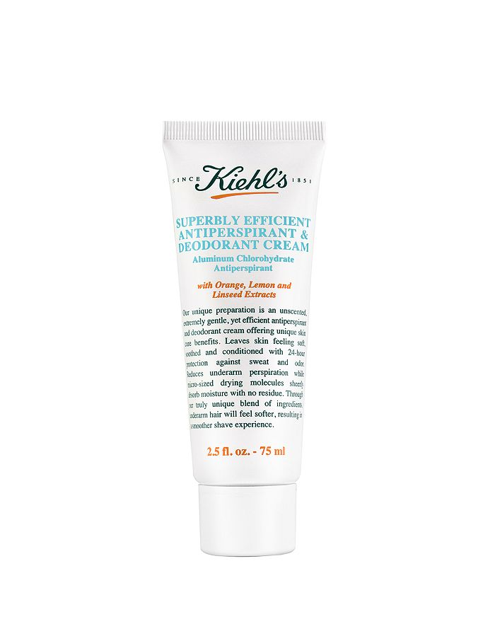Kiehl's Since 1851 - Superbly Efficient Anti-Perspirant & Deodorant Cream 2.5 oz.