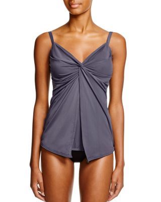 Up & Coming Love Knot Tankini Top