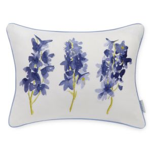 bluebellgray Skye Embroidery Decorative Pillow, 12 x 16