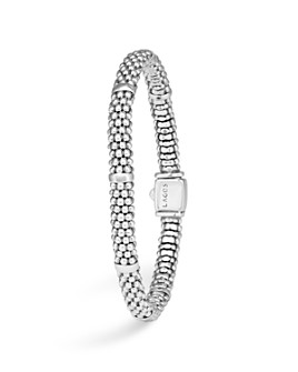 LAGOS - Signature Sterling Silver Petite Caviar Bracelet