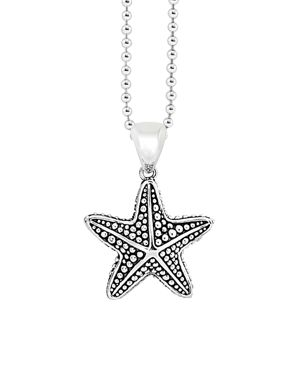 Lagos Starfish Pendant Necklace, 34