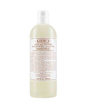 Kiehl's Since 1851 Bath & Shower Liquid Body Cleanser in Grapefruit 16 oz.