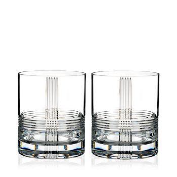 Rogaska - Fan Club Double Old-Fashioned Glass, Set of 2
