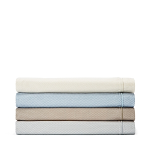 Oake Piquet Printed Fitted Sheet, California King - 100% Exclusive