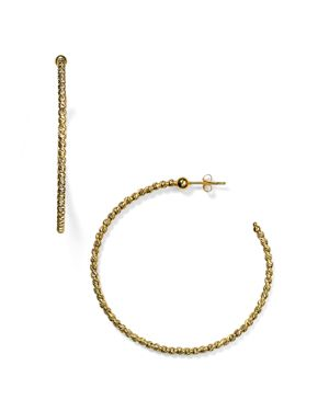 OFFICINA BERNARDI BEADED HOOP EARRINGS