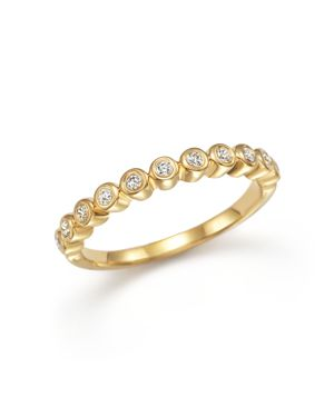 Diamond Band Ring in 14K Yellow Gold, .20 ct. t.w. - 100% Exclusive