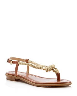 MICHAEL Michael Kors Holly T-Strap Rope