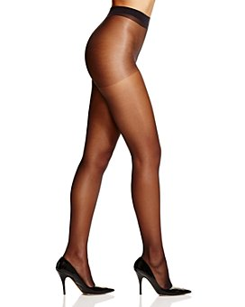 HUE - Clear Control Top Sheer Tights
