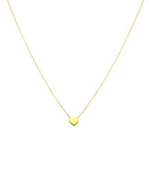 Tous 18k Gold Mini Heart Pendant Necklace, 16