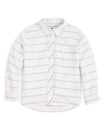 Rails - Girls' Stripe Button-Down Shirt - Little Kid, Big Kid