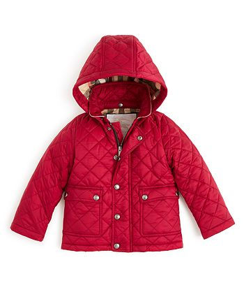 Burberry - Girls' Quilted Jacket - Baby