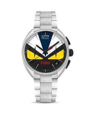 Momento Fendi Bug Stainless Steel Watch, 40mm