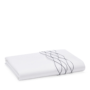 Vera Wang Corrugated Texture Fitted Sheet, King