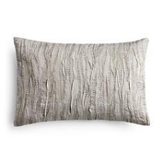 "Vera Wang Marble Shibori Rafia Decorative Pillow, 12"" x 16"" - Bloomingdale's_0"