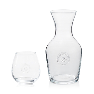 Click here for Juliska Berry & Thread Glassware Carafe & Stemless... prices