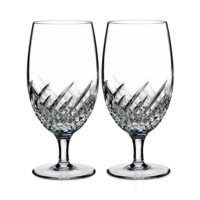 Waterford - Essentially Wave Iced Beverage Glass, Set of 2