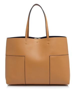 Tory Burch Block-t Leather Tote 1580832