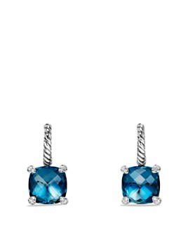 David Yurman - Châtelaine Drop Earrings with Gemstones & Diamonds