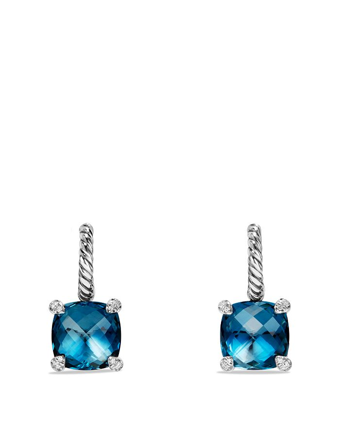 David Yurman - Châtelaine Drop Earrings with Gemstones & Diamonds